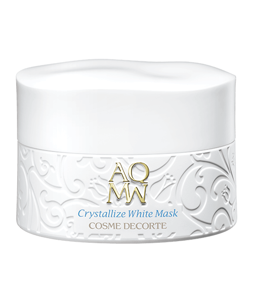 Crystallize White Mask